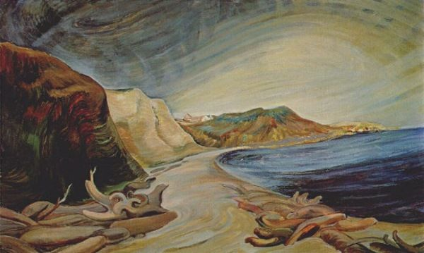 "Emily Carr Canadian 1871 - 1945 ""Shoreline, 1936"""