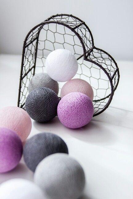 #cottonovelove #cottonballlights #interior #cottonballs