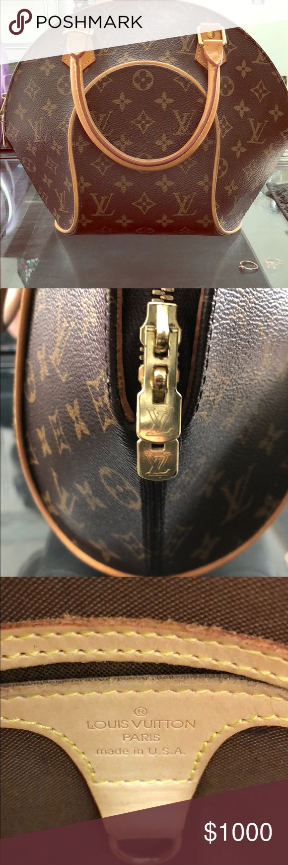 Louis Vuitton Monogram Elipse PM Bag (Excellent Condition) Louis Vuitton Monogram Elipse PM Bag ✨✨✨ This trendy Elipse handbag is the prefect spin on the bowling bag. With its iconic monogram canvas and sophistication gold - tone hardware, it's puts elegance into any situation! Louis Vuitton Bags Satchels