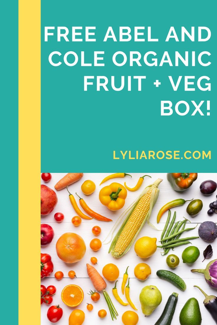 Abel and Cole promo code 2020 get a free organic fruit