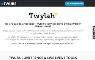 TWUBS CONFERENCE & LIVE EVENT TOOLS