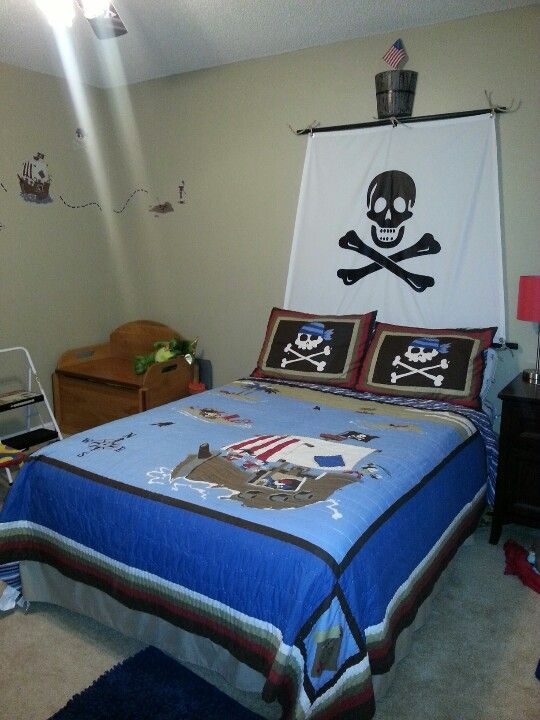 Pirate Bedroom A Little Boy S Dream Room Oh Boy