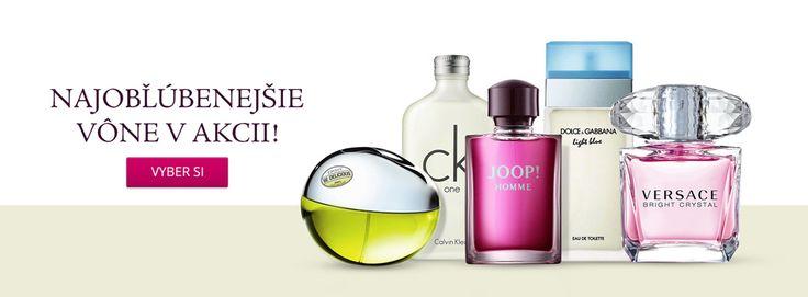 Parfémy, Kozmetika | Originálne značkové parfémy a kozmetika | BRASTY.SK