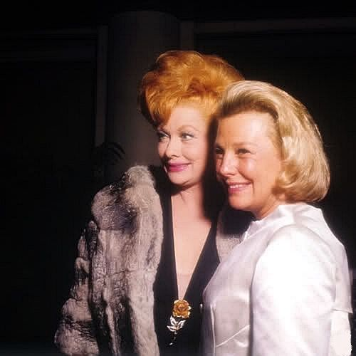 June Allyson and Lucille Ball