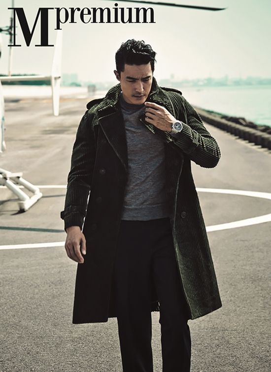 Daniel Henney Covers The September 2015 Issue Of Arena Homme Plus | Couch Kimchi