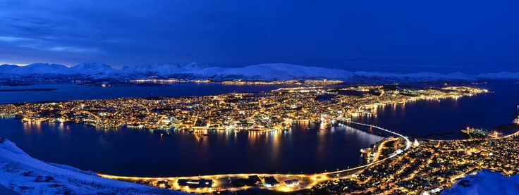Tromsø (Norway) during polar night by Timothée Nalet on 500px