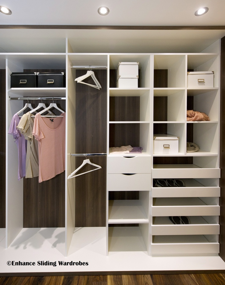 Walk in wardrobe closet wardrobe storage designed for Sliding wardrobe interior designs