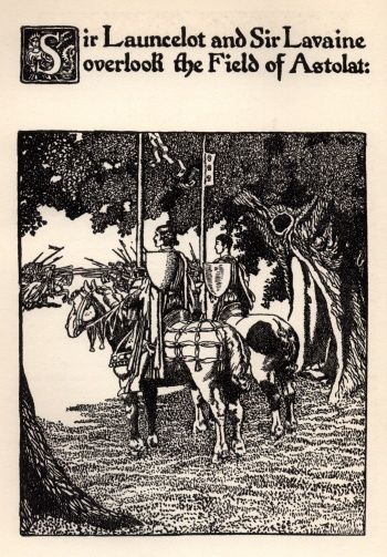 The Story of Sir Launcelot and His Companions Sir Launcelot and Sir (136)
