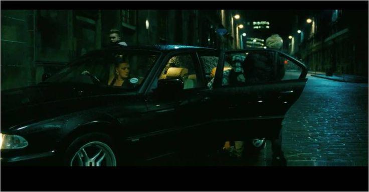 Filth Film Still - Car Scene.