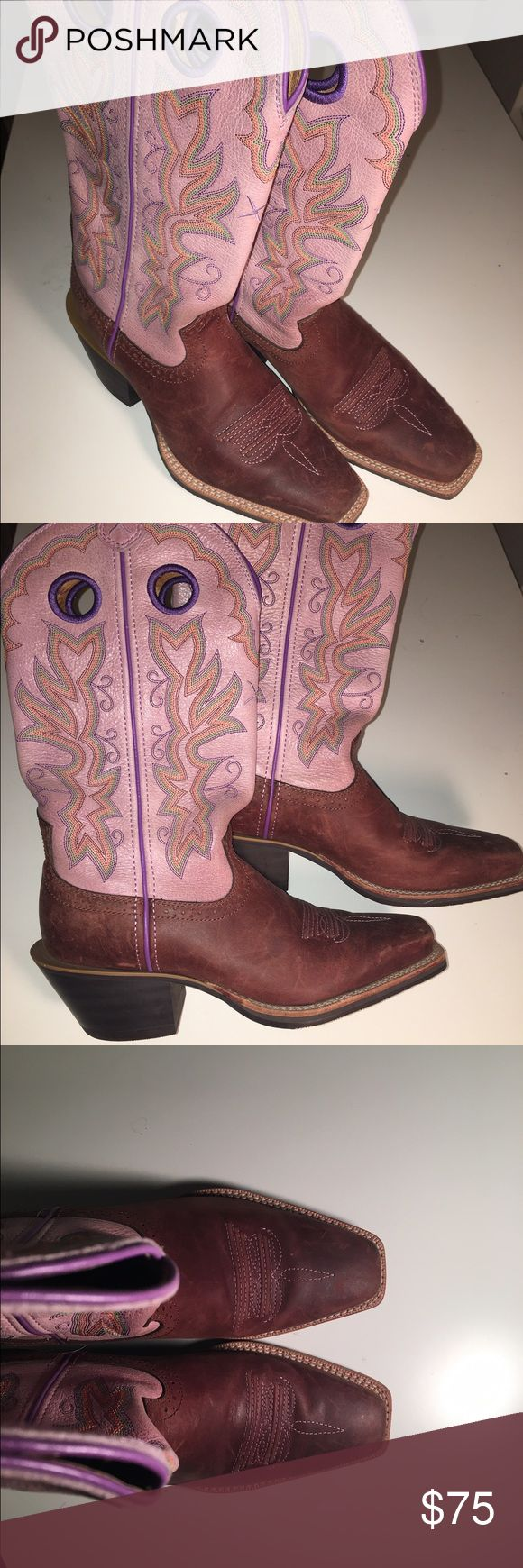 *MAKE AN OFFER*Twisted X cowboy boots size 6.5 Purple Twisted X cowboy boots size 6.5 twisted x Shoes Heeled Boots