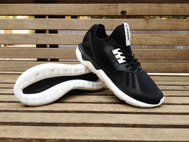 adidas Originals Tubular Runner - Black - White - SneakerNews.com