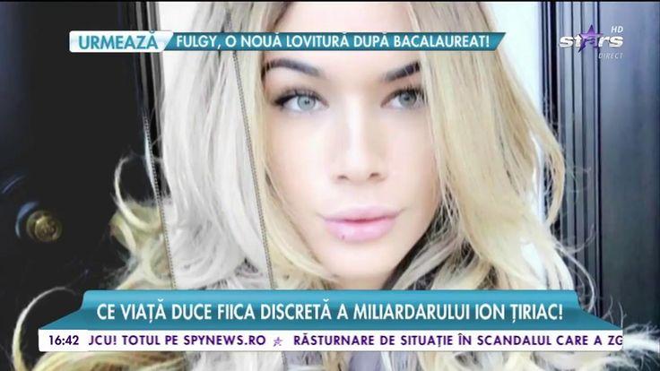 Ce viaţă duce fiica discretă a miliardarului Ion Țiriac! Trăieşte ca o p...