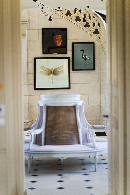 Domaine des Etangs - Dominique Denou #art #Massignac #France #chateau #decoration