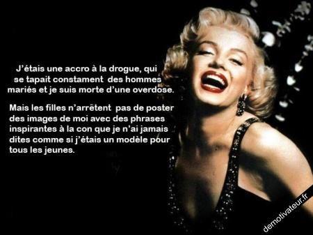 image drole - Marilyn Monroe