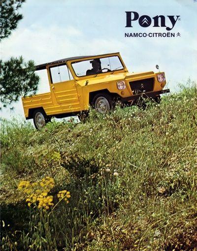 Citroën Pony Poster