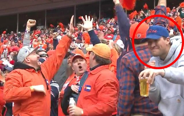 LOOK: This Broncos fan is the spitting image of Tony Romo ...
