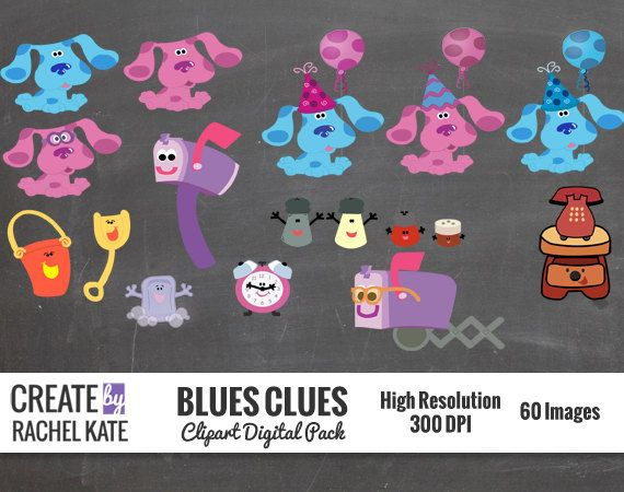 14 best Blues clues Party images – Blues Clues Birthday Card