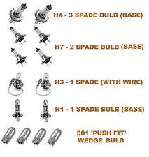 Headlight Bulb Pack H7 H4 H1 & H3 Citroen C4 Picasso MPV 2007