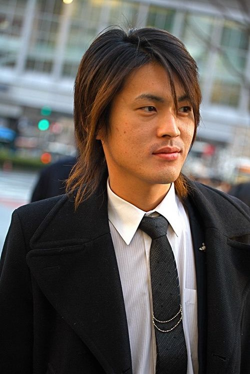 Asian Long Hairstyle - Hairstyle Ideas for Men