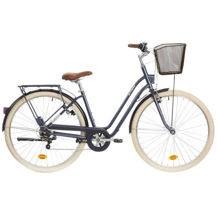 GROUPE 6 Vélos, cyclisme - VELO VILLE ELOPS 520 CADRE BAS B'TWIN - Vélos, cyclisme