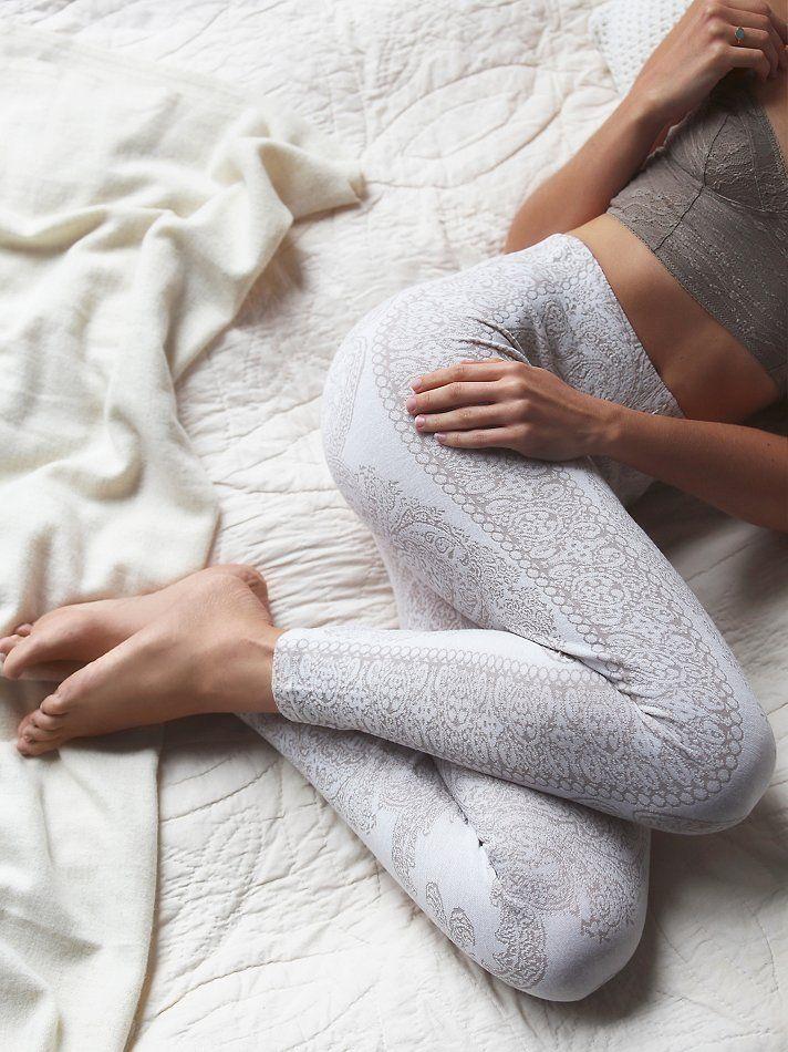 Cute leggings for @dancerjadyn Free People Hendrix Sweater Legging at Free People Clothing Boutique