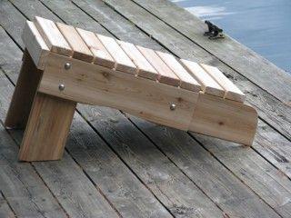Muskoka Side Table / Foot Rest