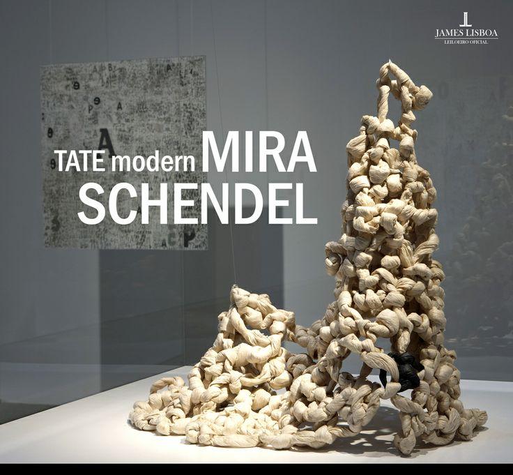 Mídia Social - Exposição Mira Schendel no Tate Modern - #post #socialmedia