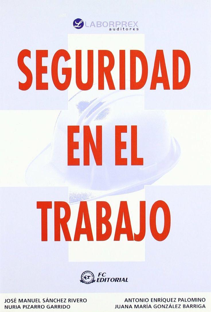 Seguridad en el trabajo / Pizarro Garrido, Nuria.  N° de pedido: 613.6 S456T 2011
