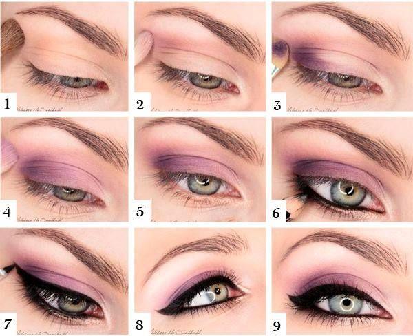 Aplicaciones De Sombras Diy Belleza En 2019 Maquillaje
