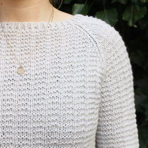 Image of DK-0034 Waffel Sweater Str. XS - XXL