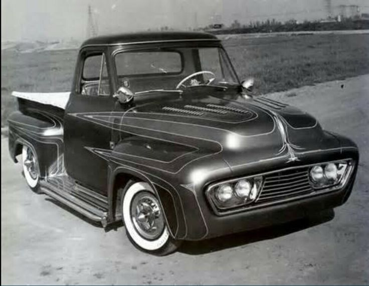 56 Ford F100 ''Ed Roth Shop Truck'' | Customs | Pinterest ...