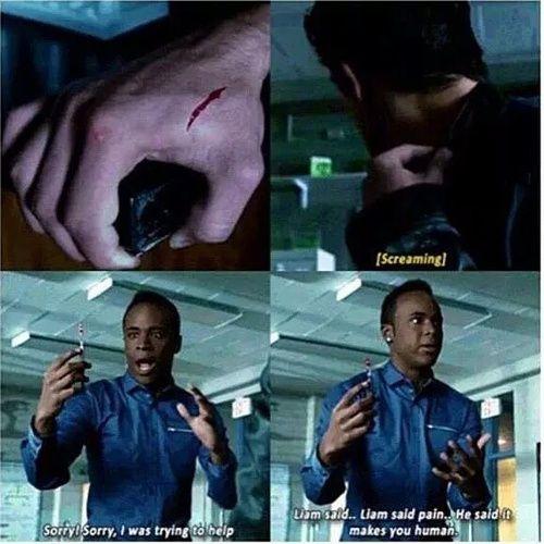 "Teen Wolf Season 5 Episode 7 ""Strange Frequencies"" Mason Hewitt and Scott McCall ~ i can't believe Mason is the Beast!"