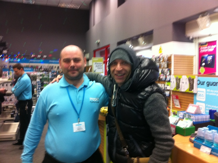 Jason Bradbury from the Gadget Show!!