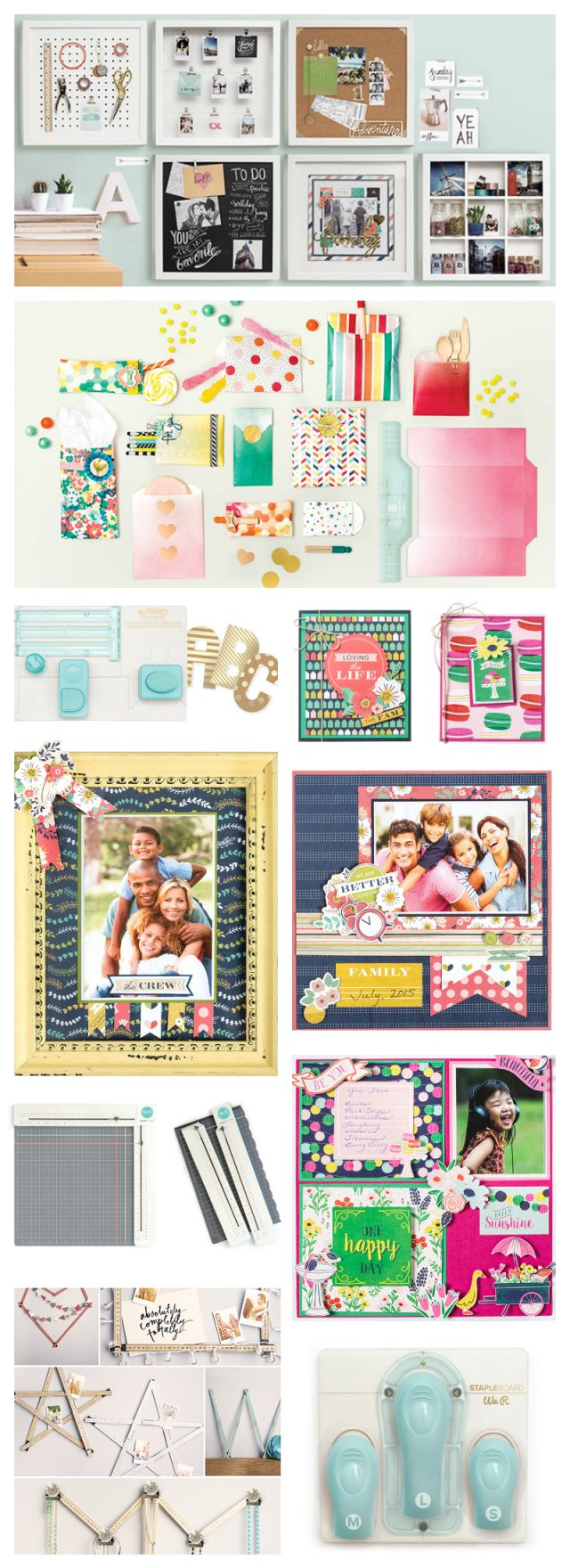 33 creative scrapbook ideas every crafter should know diy projects - The Craft And Hobby Association Trade Show Starts Tomorrow And Boy Have We Got A Ton Of Fabulous New Releases We Re Unveiling This Weekend