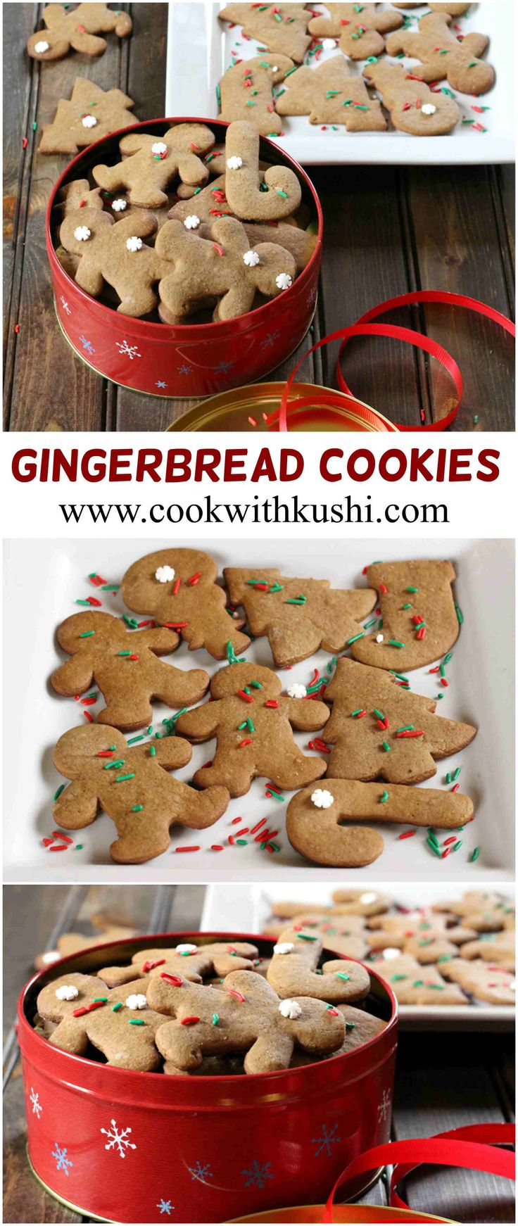 Gingerbread Cookies are very delicious and irresistible cookies ...