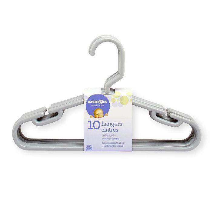 Babies R Us 10 Pack Hangers - Gray