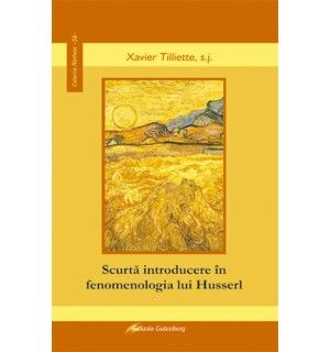 Scurtă introducere în fenomenologia lui Husserl