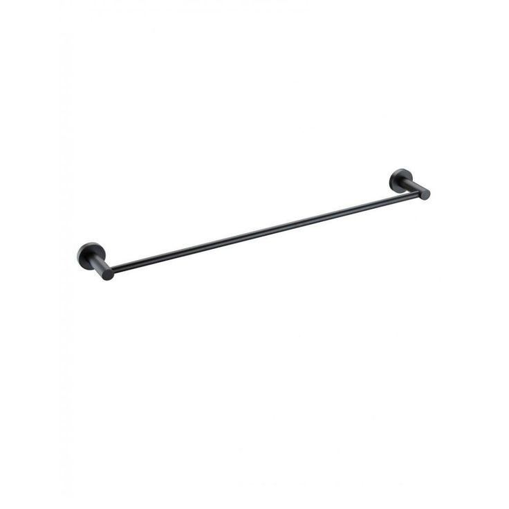 This Black Single Towel Rail has a reassuringly solid round design and is a perfect complement to Meir's matte black taps and shower fittings.– Length: 900mm– Comes with standard fittings for easy installation– Available as part of Meir's range of matte black bathroom accessories.