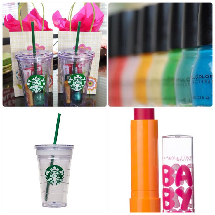 a perfect and two minute gift for teenage girl starbuck s plastic cup diy birthday