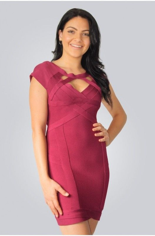 Ricki Bandage Dress- 50% discount available. Shop only at A$49.95.