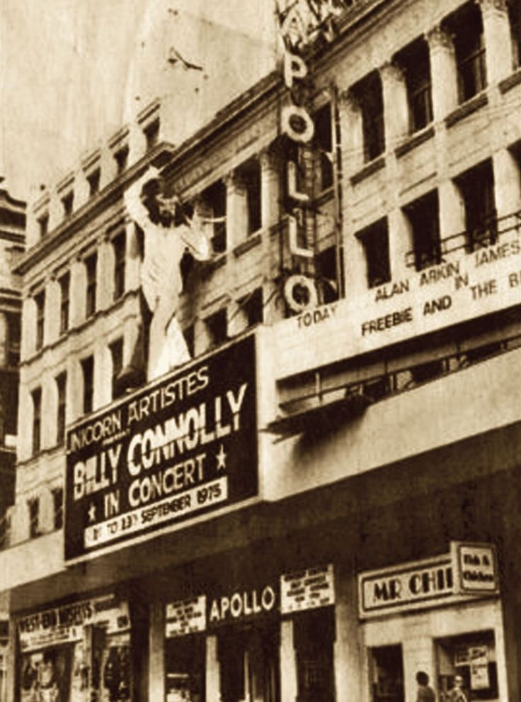 Initially Green's Playhouse Cinema, Glasgow Apollo (demolished for Cineworld)
