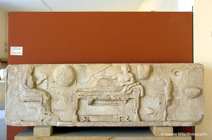 Paros Archeological Museum, Greece