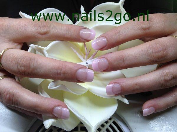 licht roze acryl