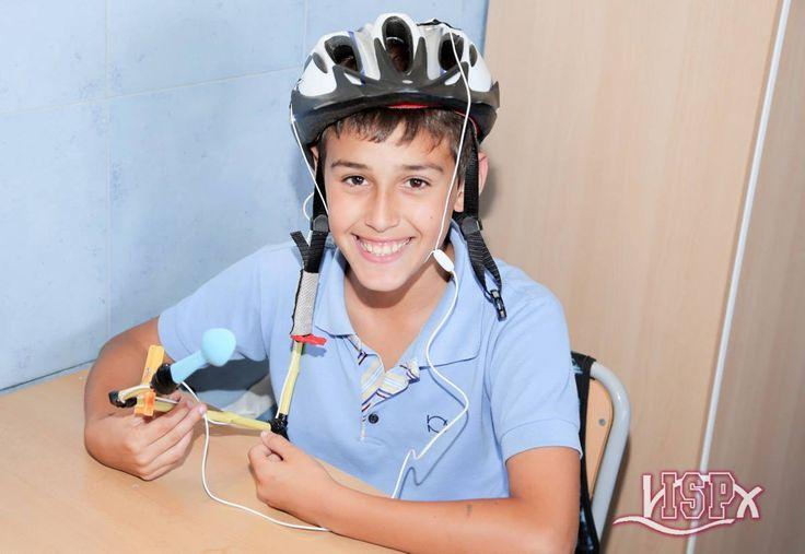 5º #PrimariaISP crea maquetas de inventos en #InglésISP. Actividades de writing and speaking habituales en #ColegiosISP. #plurilingüismoISP