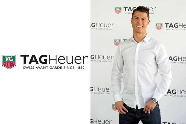 クリスティアーノ・ロナウドが、高級時計ブランド「タグ・ホイヤー」の新しい顔に