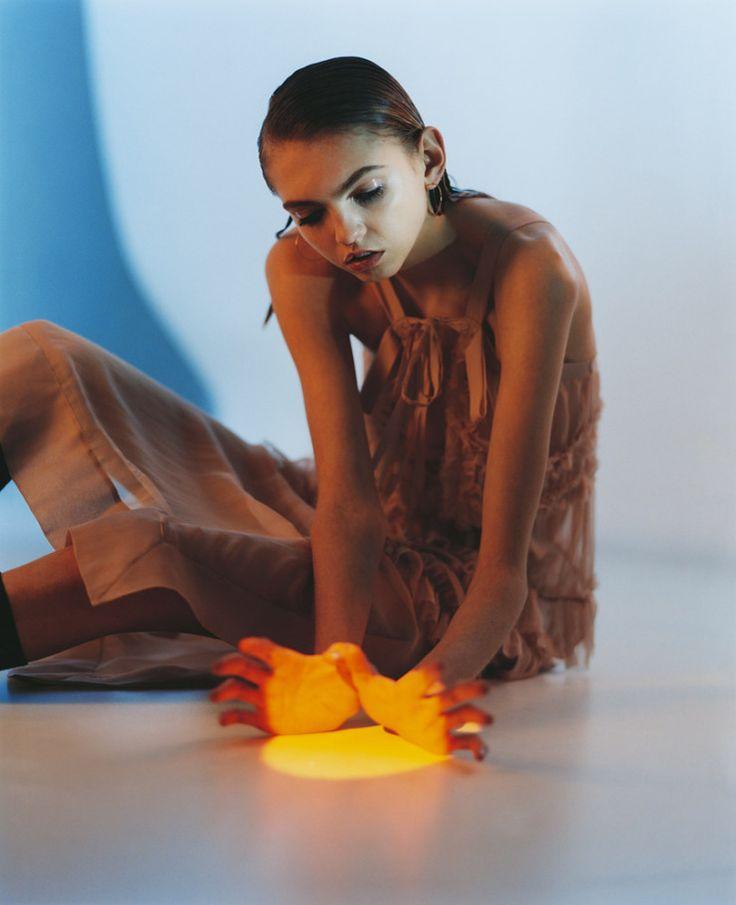 Molly Bair by Janneke van der Hagen for CR Fashion Book Spring Summer 2016