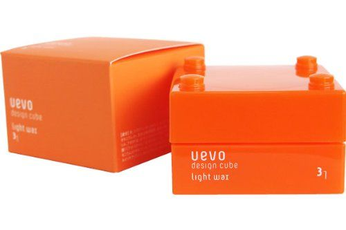 Uevo Design Cube Hair Wax - Light - 30g * This is an Amazon Affiliate link. Learn more by visiting the image link.
