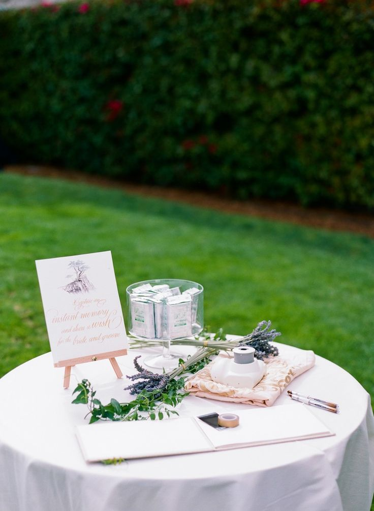 117 best Guest Book Table images on Pinterest | Guest book table ...