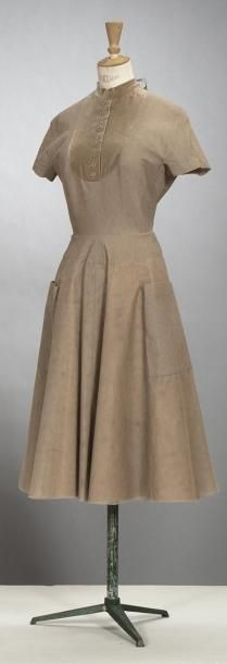 Jacques GRIFFE, haute couture, n° 508046, circa 1948/1950