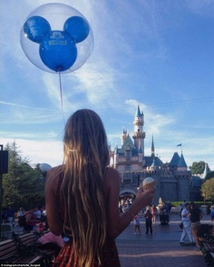 Charlotte (pictured at Disneyland) is an economics student and model, while Jesson owns a wakeboard and waterski school